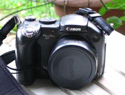 my Canon PowerShot S3 camera