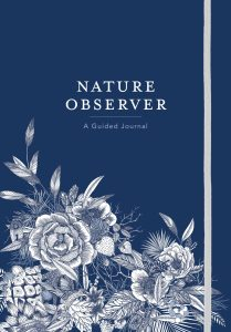 cover of Nature Observer Guided Journal form Timber Press