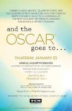 TCM and the oscar goes to