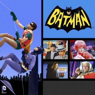 batman and robin wall climb