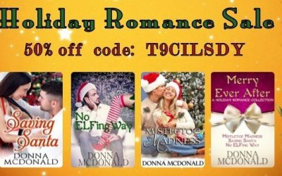 December Sales at Donna's Bookstore