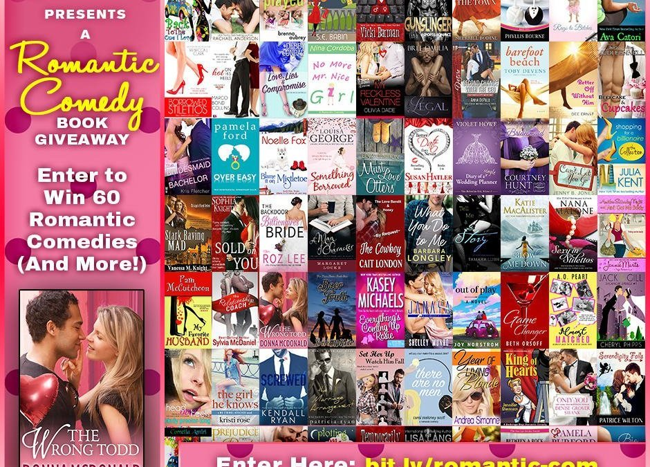 The Wrong Todd Featured in 55 Author Romantic Comedy Giveaway