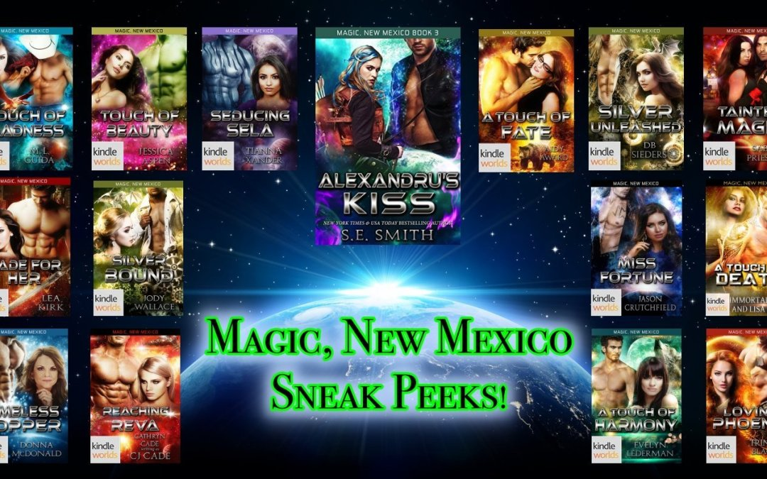 Read 15 Sneak Peeks! Magic, New Mexico