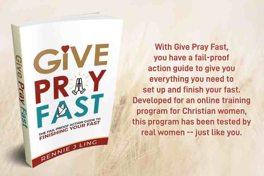 Give Pray Fast