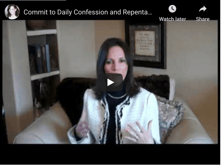 Daily Confession and Repentance