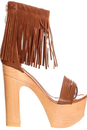 Edith Fringe Wedges