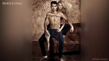 Joe Jonas In Ad For Guess