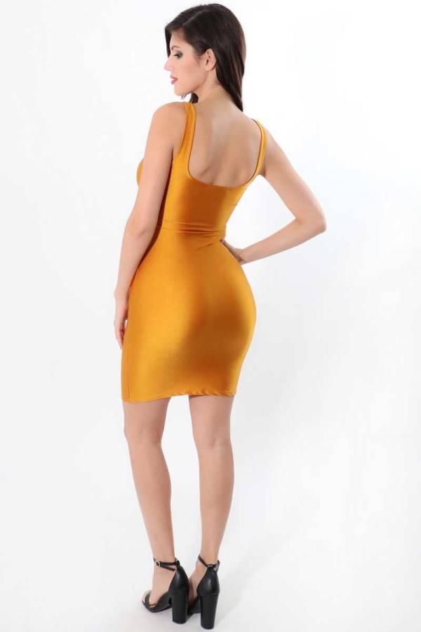 Malibu Keyhole Bodycon Dress