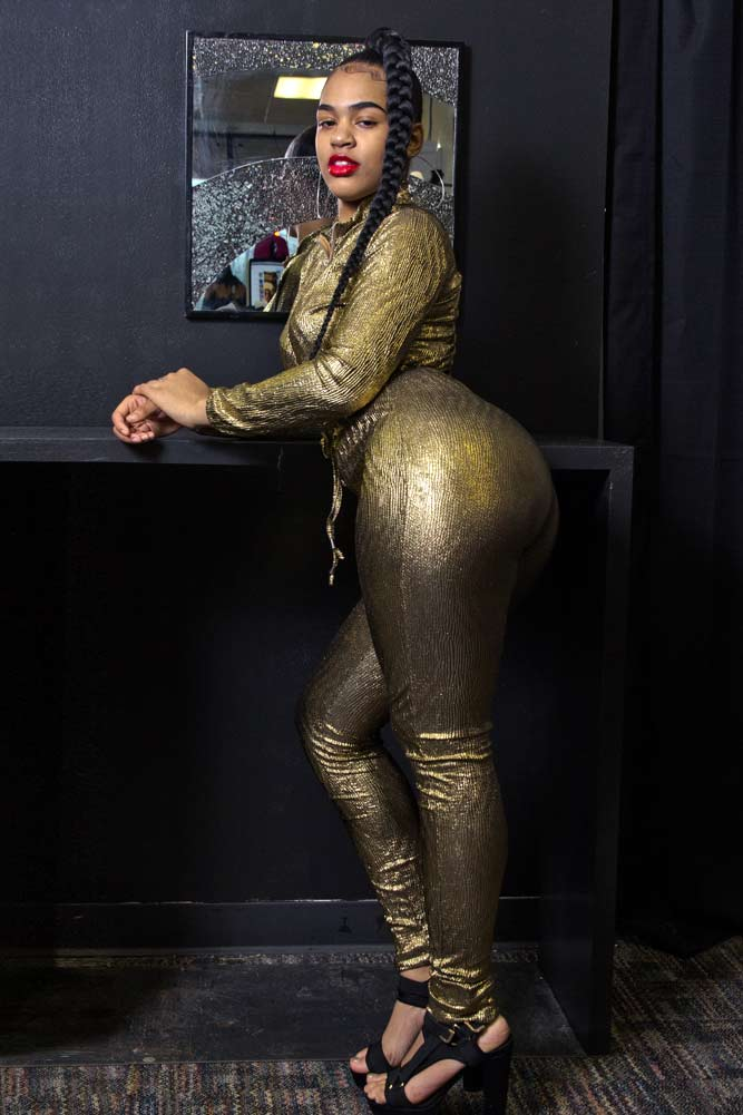 Oh Gloria Golden Textured Jumpsuit