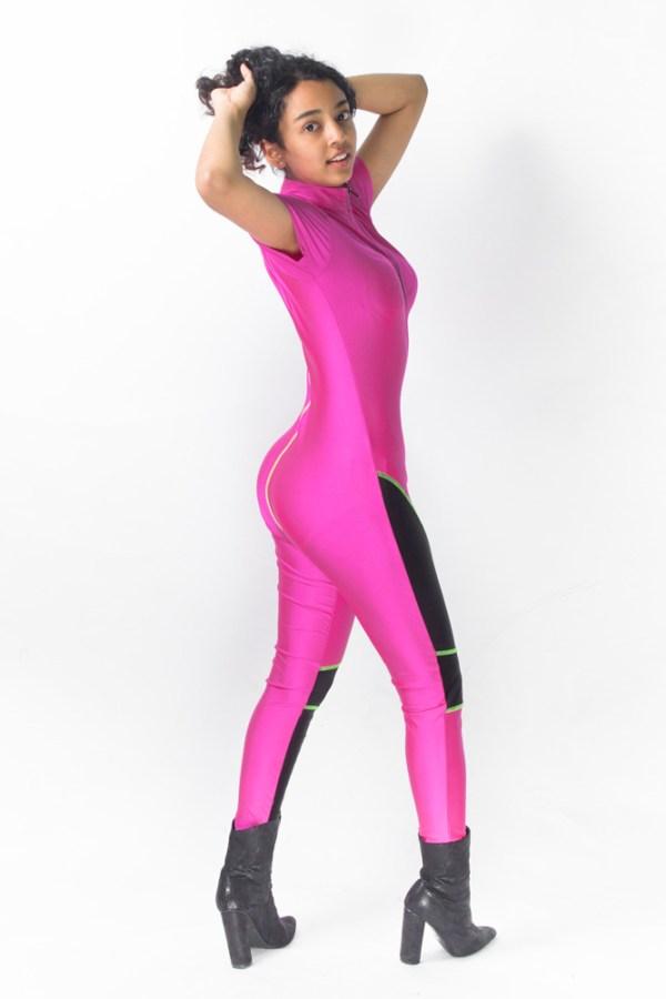 She Got Game Hot Pink Jumper