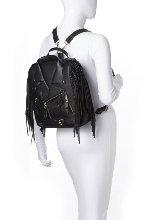 moto fringe jacket backpack