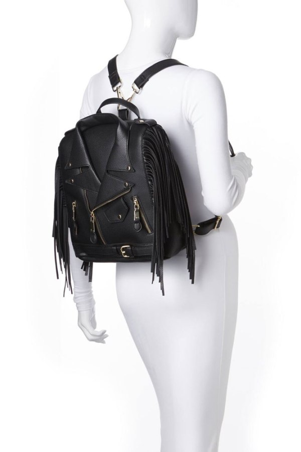 moto fringe jacket backpack