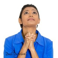 prayer woman