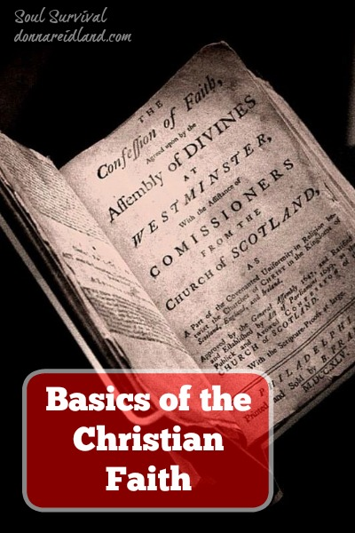 Basics of the Christian Faith - All of God's Word is valuable for teaching us to live a God-honoring life, but today's New Testament reading contains a great synopsis of the basics of the Christian life. Also read about God's incredible patience and the reason God may be allowing some unpleasant circumstances in our lives.
