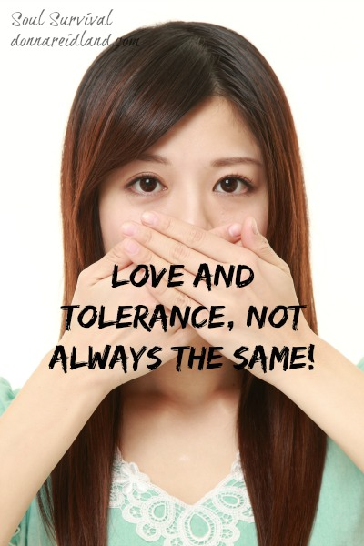 Love & Tolerance, Not Always the Same - Love and tolerance: the world often equates one with the other. Yet, passages like Galatians 6.1-2 and Ezekiel 33.1-6 make it clear that tolerance is not always love. We are told to lovingly confront sin in the lives of other believers and to share the gospel and, at times, warn unbelievers of the judgment to come.