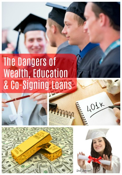 """Dangers of Wealth, Education & Co-Signing Loans"" - As we come into this graduation season, are there warnings in God's Word about how we use education? And what about wealth, can the very blessings of God hinder someone's relationship with God? What about our attempts to bless others? Can they be misguided, such as when we co-sign loans? Can they be a snare to the receiver and to us?"