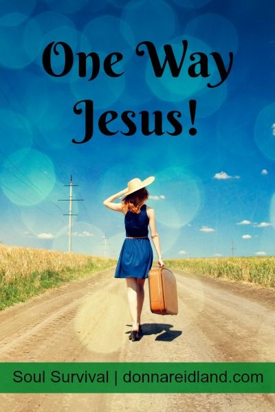 One Way - Jesus!