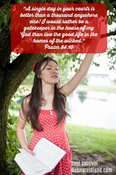 Psalm 84.10 -