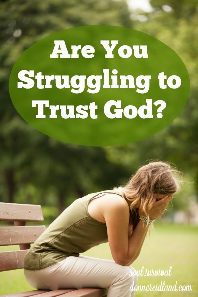"""Struggling to Trust God - Is there some area of life where you're struggling to trust God? Do you find yourself impatient because God has failed to answer your prayer or change your circumstances? Do you wonder, """"Why me?"""""""