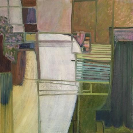 """""""My Window,"""" Oil on Linen, 20""""x20"""""""