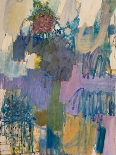 """Garden Abstraction #1,"" Oil on Linen, 32""x24""x1.5"""