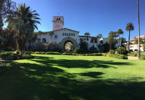 Santa Barbara Courthouse Sunken Garden