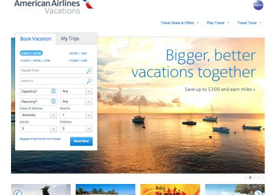 American Airlines Vacations*