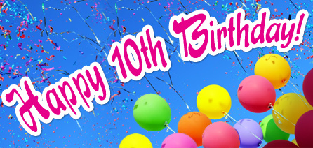 Happy 10th Birthday Donnas Family Life