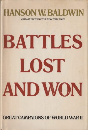 Battles Lost And Won