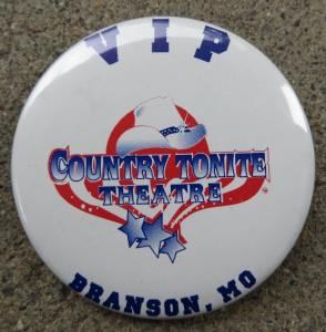 Country Tonight Theatre VIP Button