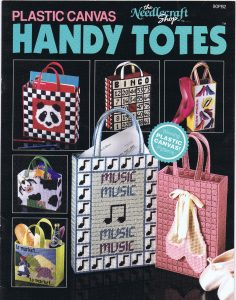 Plastic Canvas Handy Totes