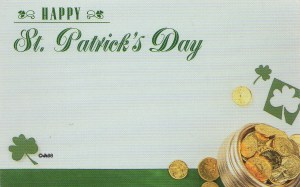 Happy St. Patrick's Day - pot of gold