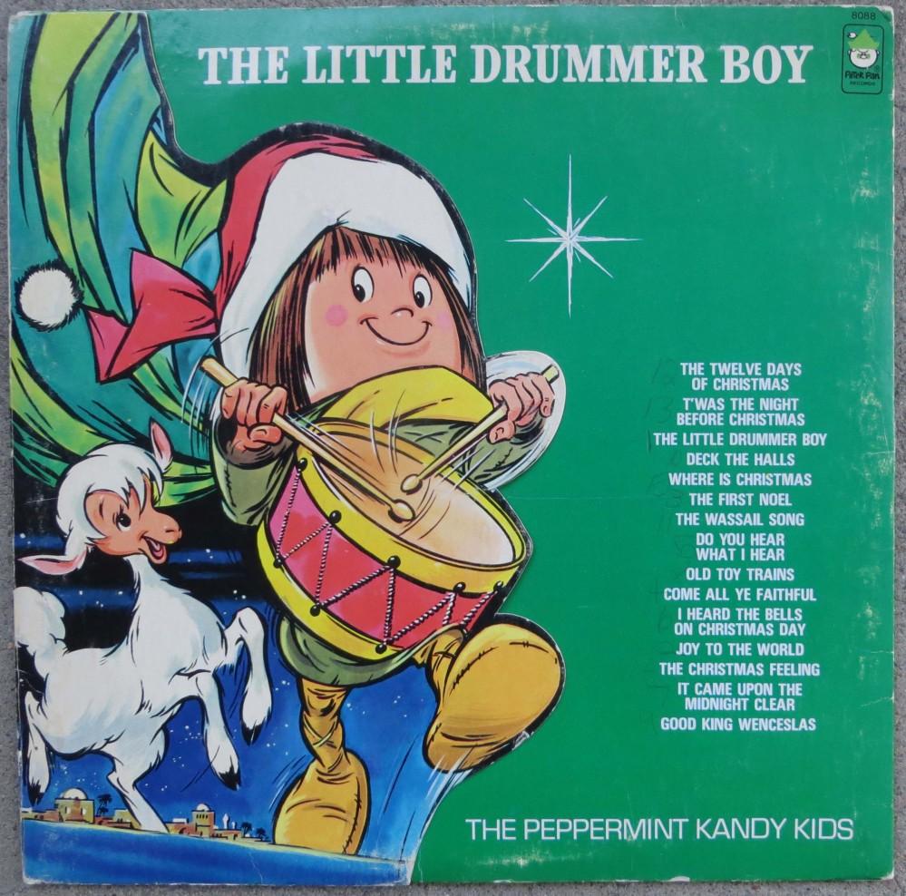 the little drummer boy peppermint kandy kids peter pan 12 lp - Where Is Christmas