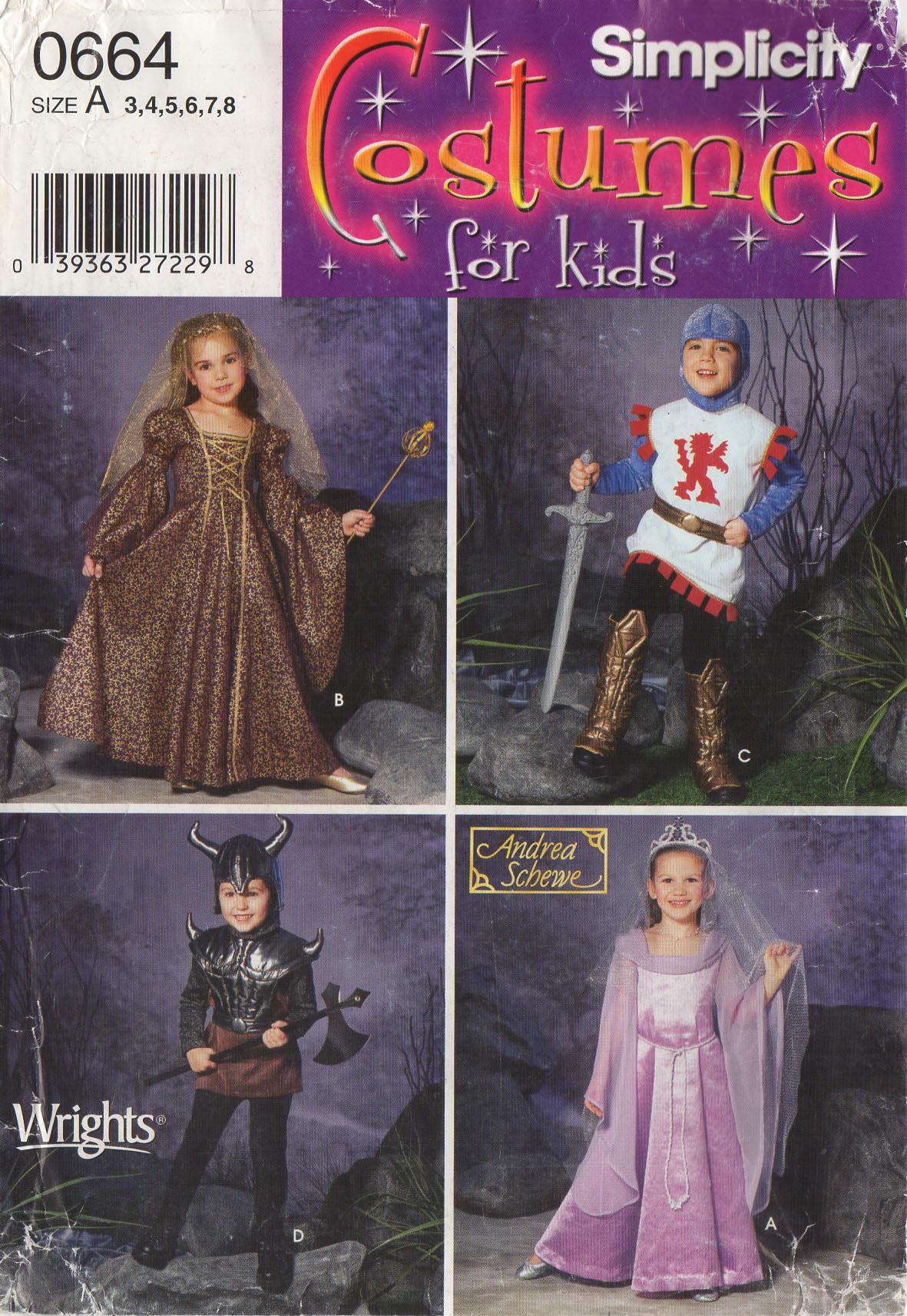 knight princess queen warrior simplicity 5520 kids 3 8