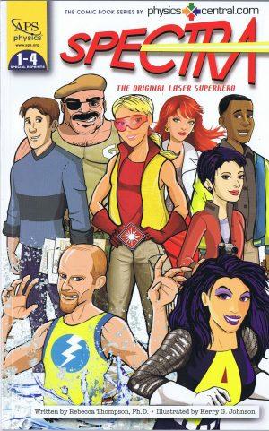 Spectra: The Original Laser Superhero, Issues 1-4