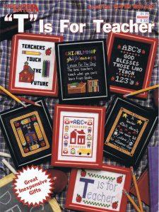 """""""T"""" Is For Teacher"""