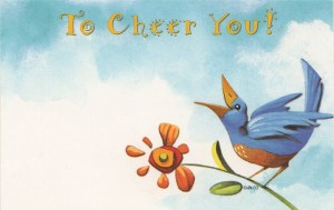 To Cheer You - floral enclosure