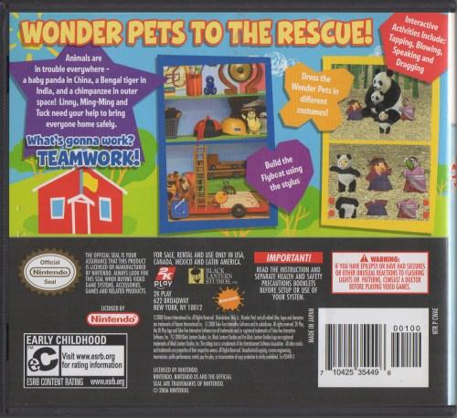 Wonder Pets!: Save the Animals! - back