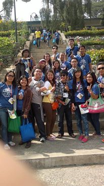 during our outreach activity