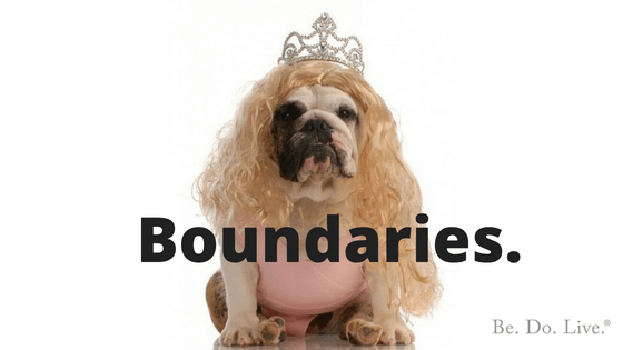 Having Boundaries Doesn't Mean You're a B*tch