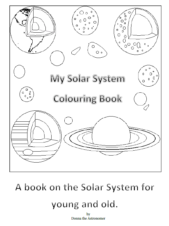 My Solar System Colouring Book