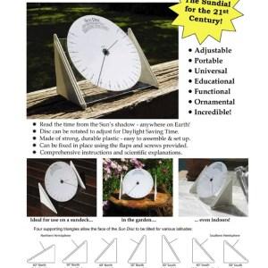 Sun Disk Sundial