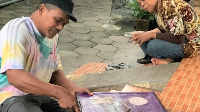 The Batik Process