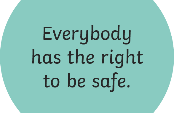 Everybody has a right to be safe