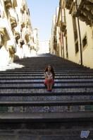 La scalinata di Santa Maria del Monte