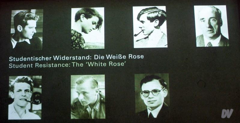I protagonisti della ribellione della Rosa Bianca