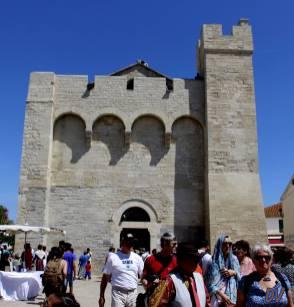 La facciata principale.