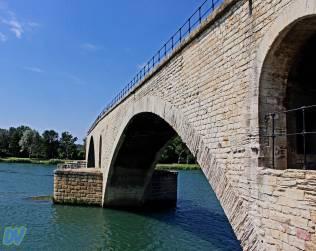 Veduta del ponte.