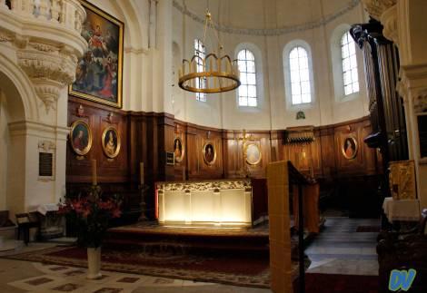 L'interno di Notre Dames.