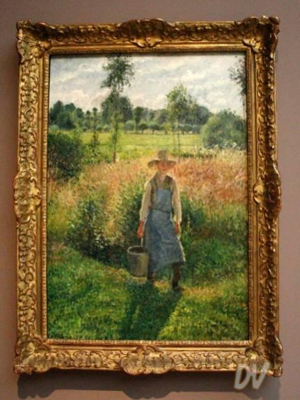 Il giardiniere - Camille Pissarro